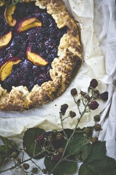 Wild Blackberry Gallette
