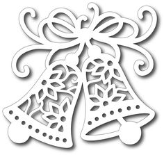 Tutti Designs - Cutting Die - Ringing Bells Christmas Window Decorations, Christmas Ornament Crafts, Diy Paper, Paper Crafts, Bell Paper, Christmas Cards Drawing, Paper Plate Crafts For Kids, Christmas Stencils, Christmas Mood