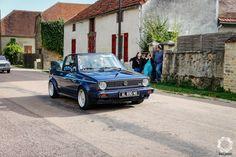 Volkswagen Golf cabriolet Le Rallye des Copains 2019 - News d'Anciennes Ferrari 456, Bmw 635, Aston Martin, Volkswagen Golf Cabriolet, Porsche, Vehicles, Car, Rally, Automobile