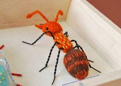Hine Mizushima's felt ant