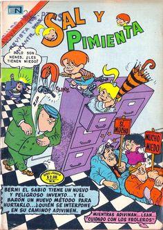 COMICS NOVARO: Novaro : Sal & Pimienta #132
