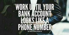 Work hard  q