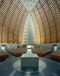 I want to visit this church. Cathedral of Christ the Light // SOM
