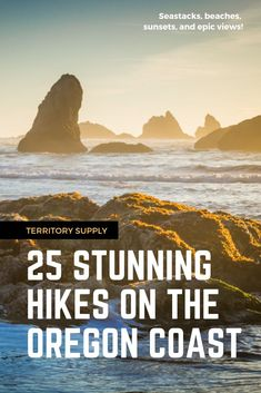 Headlands & Beaches: 25 Stunning Hikes on the Oregon Coast Get your fix of seastacks, beaches, and epic views. These are the top 25 most stunning hikes on the Oregon Coast. Oregon Coast Hikes, Oregon Coast Camping, Oregon Dunes, Southern Oregon Coast, Oregon Road Trip, Oregon Travel, Oregon Beaches, Oregon Hiking, Utah Hikes