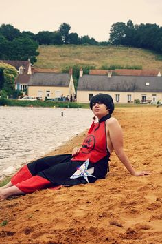 Do Sen like the beach ? by AyameBu on DeviantArt