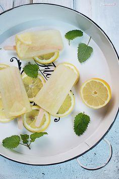 Lemon Popsicles