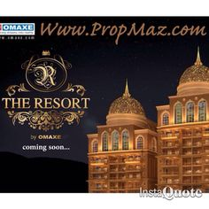 Omaxe The Resort Flats Apartments New Chandigarh Launching soon .call 9915100085 Log on to http://www.propmaz.com