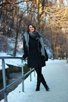 Winter walking style