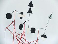 Alex Palenski - table top mobile stabile wire frame