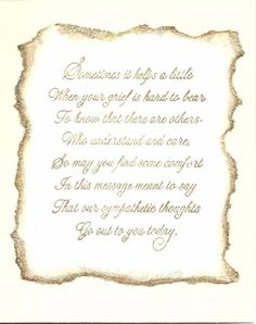 91 best sympathy verses images on pinterest in 2018 sympathy card example of inside simple sympathy card m4hsunfo