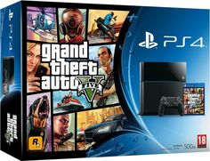 Sony PS4 500GB GTA V Bundle on November 15 2016. Check details and Buy Online, through PaisaOne.