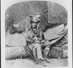 Pe-Degahi - Omaha - circa 1872