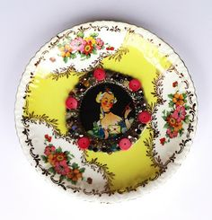 Resin Crafts: Tea Saucers, Jewels and Images With Envirotex Lite - for when we want to have super special mommy-daughter tea paries