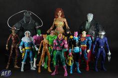 DC Universe Legion of Doom Comic Villains, Comic Book Superheroes, Dc Comics Action Figures, Custom Action Figures, Cartoon Toys, 90s Cartoons, Friend Cartoon, Dc Comics Art, Justice League