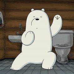 Lawan semua masalah yg ada d depanmu. Ice Bear We Bare Bears, 3 Bears, Cute Bears, We Bare Bears Wallpapers, Panda Wallpapers, Cute Cartoon Wallpapers, Panda Kawaii, Cute Cat Memes, Bear Wallpaper