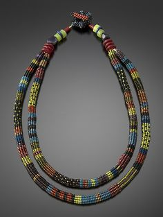 Zanzibar+Necklace by Julie+Powell: Beaded+Necklace available at www.artfulhome.com