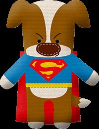 My dog got Superman on the #superherodogquiz! What about your dog?