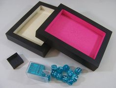 DIY Dice Trays, Towers & Storage Wedding Party Games, Wedding Games For Guests, Christmas Drinking Games, Christmas Games, Christmas Diy, Geek Games, Diy Games, Outdoor Games For Toddlers, Dice Tower