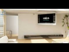 I will take this! Motorized fold down ceiling mount by Inca Corporation