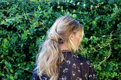 Hair How-To: The Romantic Up-Do | Olivia Palermo