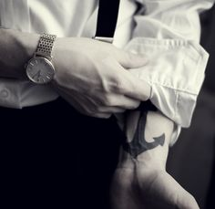 FUCK this is hot!!! Dress shirt + Tats = GODDAMN!!!!