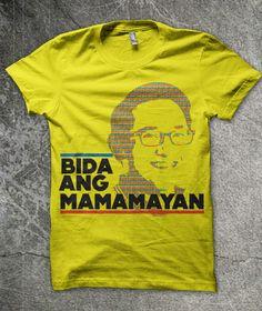0db03c75 Benigno BAM Aquino t-shirt design Campaign... Design Campaign, Shirt Designs