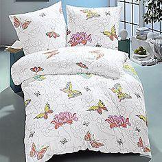Children's 100% Cotton Duvet Cover Set- Modern Butterflies