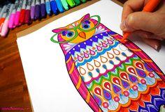 Colorful Mandrill By Thaneeya McArdle