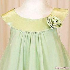 Платье для девочки с выкройкой Подписывайтесь на наши новости. Будьте с нами!!