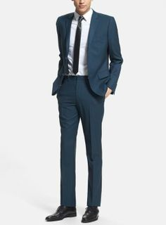 For prom - Topman skinny fit suit and shirt