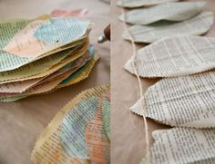 Green Tip!! Recycled watercolor newspaper… « Element Eden – US