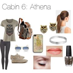 Cabin 6: Athena | Zabolicious | Percy Jackson and the Olympians | Mythology | Fashion