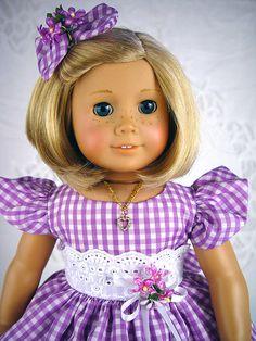 American Girl dress American Girl Spring Dress by ADollsFancy