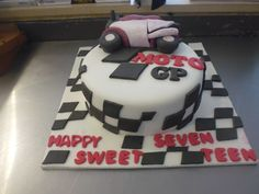 "Birthday Cake ""Moto GP"" - Made By: Strawberry Delight"