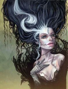 Dark art. Bride of Frankenstein?