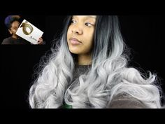UNIWIGS REVIEW: butterfly synthetic front lace wig - YouTube