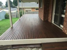 Decking completed. Just need to add handrails