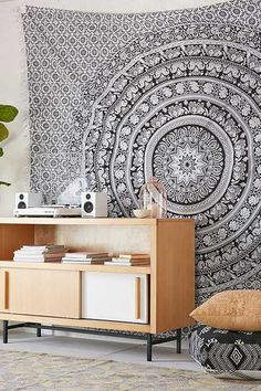 Shop Magical Thinking Floral Elephant Tapestry at Urban Outfitters today. We carry all the latest styles, colors and brands for you to choose from right here. Hanging Curtains, Tapestry Wall Hanging, Room Tapestry, White Bedspreads, Elephant Tapestry, Urban Outfitters, Bohemian Bedroom Decor, Quirky Bedroom, Mandala Tapestry