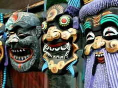 art video Chinese masks 3:04 to music