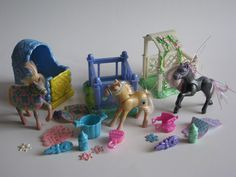 Littlest Pet Shop vintage fillies by Kenner by Siri_Mae_doll, via Flickr