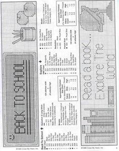 Gallery.ru / Фото #7 - 15 - 633-10-66 Diy Bookmarks, Cross Stitch Bookmarks, Mini Cross Stitch, Cross Stitch Kits, Counted Cross Stitch Patterns, Cross Stitch Designs, Cross Stitch Embroidery, Cross Stitch Boards, Book Markers