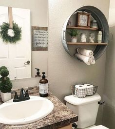 36 Beautiful Farmhouse Bathroom Design and Decor Ideas You Will Go Crazy For Stunning Modern Farmhouse Bathroom Decor Ideas 30 Modern Farmhouse Bathroom, Modern Bathroom Decor, Small Bathroom, Master Bathroom, Farm House Bathroom Decor, Downstairs Bathroom, Gold Bathroom, Modern Decor, Budget Bathroom