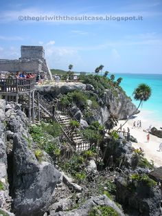 Tulum, Riviera Maya, Mexico - technically I've already been here, but it was amazing!! Beautiful beach.