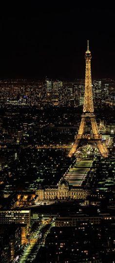 Paris, la ville des lumières scintillantes