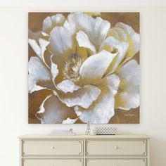 Wexford Home 'Golden Bloom II' Premium Gallery-wrapped Canvas