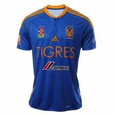 TIGRES UANL 2016/17 Away Men Jersey Personalized Name and Number