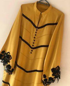 Kurti Sleeves Design, Sleeves Designs For Dresses, Dress Neck Designs, Kurti Neck Designs, Kurta Designs Women, Girls Frock Design, Fancy Dress Design, Stylish Dress Designs, Simple Pakistani Dresses