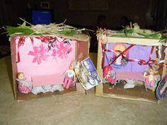 "Our little doll house ""Sukkahs"""