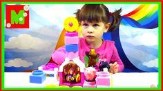Игровой набор Ферма  Лошадка, свинка, курочка  Играем Детский Канал Марг...