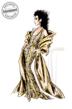 Bob Mackie takes us inside his designs for Broadway's new musical 'The Cher Show' The Cher Show, Chaz Bono, Carol Burnett, Old Hollywood Movies, Theatre Costumes, Bob Mackie, Rupaul, Fashion Art, Paper Fashion